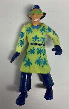 Inspector Gadget Burger King Vintage 1991 Action Figure 4 Toy Yellow Coat