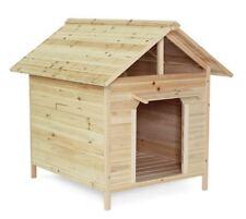Cuccia casetta per cani in legno, 103 x 83 x 97 cm
