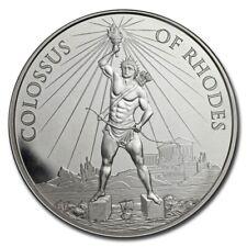 Médaille Argent 1 once 1 Drachme Colosse de Rhodes