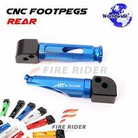 For Ducati 959 899 1299 1199 Panigale Anti-slip Rear CNC Foot Pegs