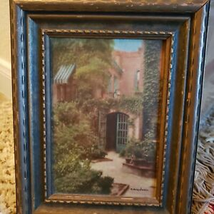 new orleans Vintage Hand Colored Photo By R.Bosworth