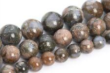Natural Llanite Blue Quartz Mixture Beads Grade AAA Round Loose Beads 6/8/10MM