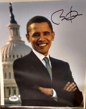 Barack Obama Signed 8x10 Photo 2007 PSA/DNA Authentic Signature RARE Item Senate