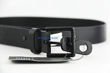 AX ARMANI EXCHANGE BELT BLACK 100% COW LEATHER BRAND NEW E6BE723 SIZE 34