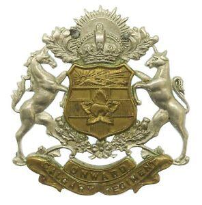 Canadian WW2 Calgary Regiment Cap Badge #44