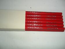 Vintage Coloray by Faber Castell  Pencils  Red NEW OLD STOCK 12