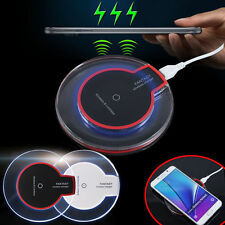 Qi Wireless Charger Charging Pad With Receiver For iPhone 7  Samsung S7 Edge Lot