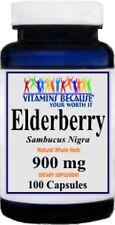 Elderberry Sambucus Nigra 900mg 100 capsules