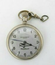 VINTAGE SWISS MADE LEVER POCKET WATCH