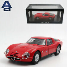 Alfa Romeo TZ2 1965 AUTOart 1:18 Scale Diecast Car Model Alloy Vehicles W/Base