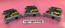 Lot Of 3 Cisco Wic-1B-U-V2 1-Port Rj-45 Isdn Bri(U) Wan Port Wic Module