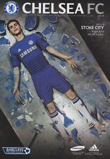CHELSEA v STOKE CITY 2013/14 MINT PROGRAMME 2014 (OSCAR ON COVER)