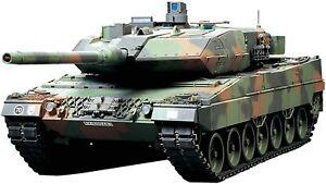 Tamiya 1/16 No.19 Bundeswehr main battle tank Leopard 2 A6 full operation set  5