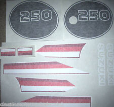 SUZUKI TS250 TS250ER DECAL SET 2