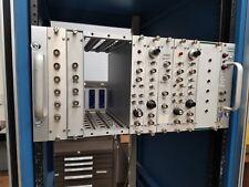 Tennelec TC 911 POWER NIM CRATE SUPPLY Tennebin 3 NIM Modules Phase Control Log