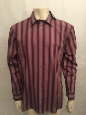 George Striped Regular Collar Casual Shirts & Tops for Men