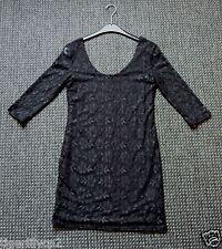 Zwarte kanten jurk Maat 40 NIEUW