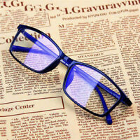 Fashion Computer Protection Clear Lens Frame Flat Mirror Plain Eyewear