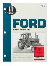 Shop Manual Fits Ford 5000 5600 5610 6600 6610 6700 6710 7000 7600 7610 7700