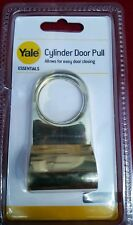 CYLINDER PULL FOR YALE DOOR LOCKS BRASS  NEW