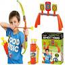 Kids Bow And Arrow Archery Set Outdoor Garden Toy Game Target Board Ideal Gift