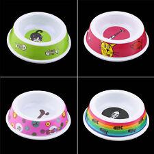 Plastic Pet Dog Cat Puppy Go Slow Eating Feed Bowl Food Water Feeder Dish XP