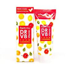 [Farm Stay] Dr-V8 Vitamin Foam Cleansing - 100ml / Free Gift