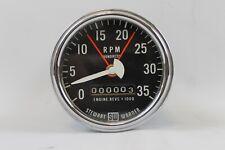 Stewart Warner Electric Vintage Tachometer 3500 Rpm Diesel Truck Hot Rod Gasser