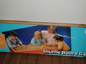 Vintage Carrom Shuffle Board Game - Includes Original Box and 8 Pucks Model #650
