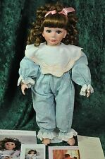 Kristen 1st Edition Vinyl Collectible Doll Laura Cobabe Hamilton Collection COA