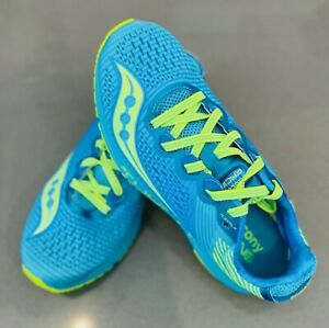 Saucony Type A8 Road Racing Shoes, Women's, Blue/Citron, Multiple sizes
