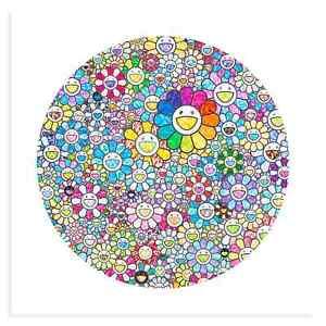 Takashi Murakami Thank You for the Wonderful Destiny Limited Signed Print Poster