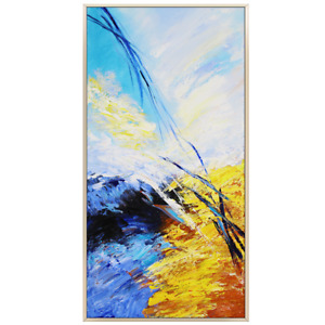 YA1207 Modern Hand-painted abstract oil painting Home decora unframed
