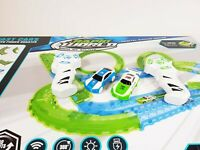 Large Electric Remote Control Slot Car Racing Track Set Kids Toy Race Game JJ113