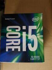 Processeur  i5-6600 - Socket LGA 1151 -  3.3 GHz - Turbo fréquence