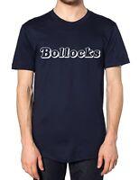 Bollocks T Shirt Tee Slogan Rude Funny Dad Present Uncle Pub Gift Offensive