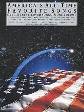 America's All-Time Favorite Songs: P/V/G (Library of Series)-ExLibrary