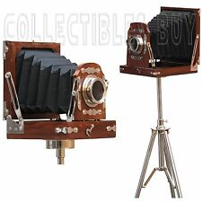 Vintage Slide Marine Old Retro camera With Nautical Charming tripod Royal Antiqu