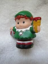 Fisher Price Little People Elf for Christmas Santa Claus Santa's Holiday Helper