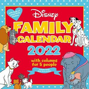 Disney Classic 2022 Family Organiser Wall Calendar