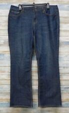 New York Co Jeans 16 x 30 Women's Low Rise Curvy Boot Stretch  (H-46)