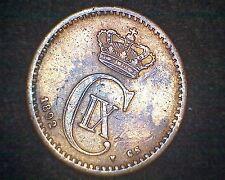 1892 DENMARK 1 ORE KM#792.1 INV#13124