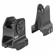Daniel Defense Picatinny Rail Mount Fixed Front/Rear Backup Iron Sight Set Combo