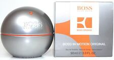 BOSS IN MOTION ORANGE BY HUGO BOSS 3.0 OZ EDT FOR MEN