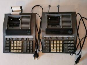 2 calcolatrici da ufficio Olivetti Logos 381