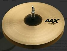 "Sabian AAX 14"" Medium Hi Hat Cymbals/New with Warranty/Model # 21402XC"