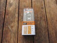 HM/HW Wendeplatten  Bündigfräser mit Anlaufring 19mm Schaft 8mm  Handoberfräse