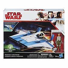 Star Wars Force Link 2.0 Resistance A-Wing Fighter & Pilot