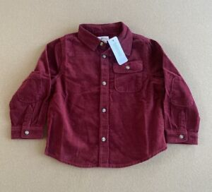 Gymboree Corduroy Button Up Shirt