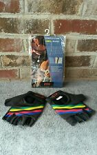 NOS Paramount Competition Cycling Gloves Black Vintage Schwinn Small Retro Road
